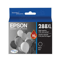 OEM Epson T288XL120 (288XL) High Yield DuraBrite Ultra Pigment Ink Black Ink Cartridge