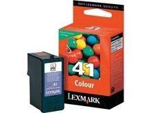 Lexmark #41 Color Inkjet Cartridge, OEM 18Y0141