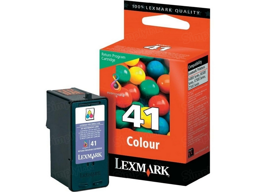 Lexmark 41 Color OEM Ink Cartridge (18Y0141)