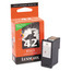 Lexmark #42 Black Inkjet Cartridge, OEM 18Y0142