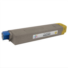Compatible Yellow Laser Toner Cartridge (10k) for Okidata 44844509 - C831
