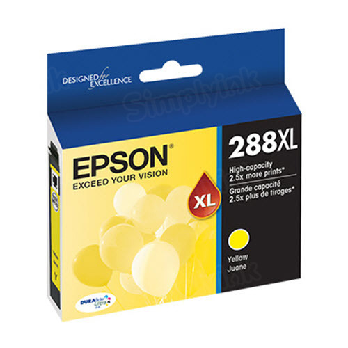OEM 288XL Yellow Ink for Epson