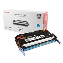 Canon CRG-111 (6,000 Pages) High Yield Cyan Laser Toner Cartridge - OEM 1659B001AA