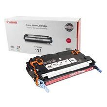 Canon CRG-111 (6,000 Pages) High Yield Magenta Laser Toner Cartridge - OEM 1658B001AA