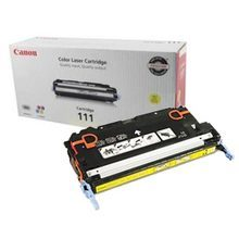 Canon CRG-111 (6,000 Pages) High Yield Yellow Laser Toner Cartridge - OEM 1657B001AA