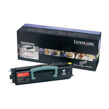 Lexmark OEM High Yield Black Laser Toner Cartridge, 34035HA (E330/332/340/342) (6,000 Page Yield)u00a0
