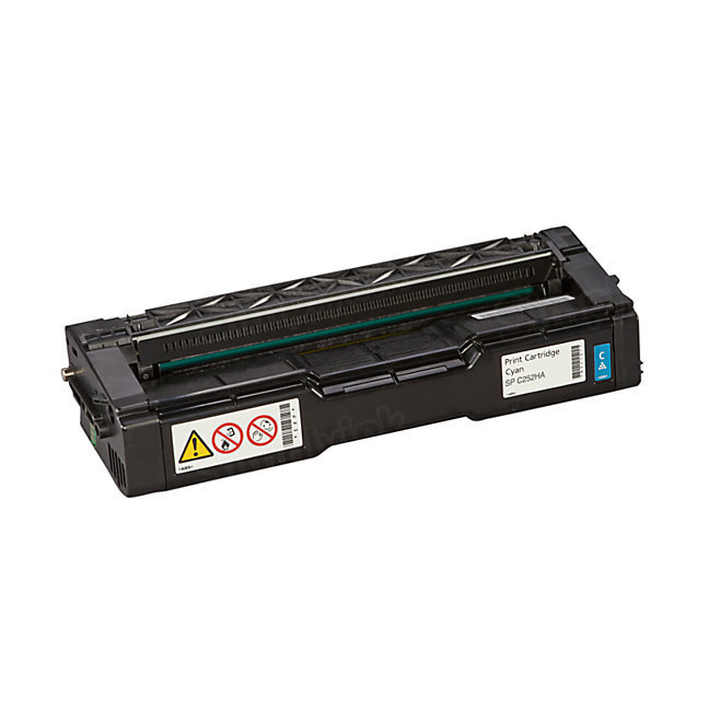 OEM Ricoh 407654 Cyan Toner Cartridge