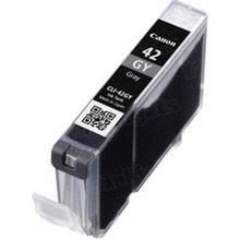 Canon CLI-42GY Gray OEM Ink Cartridge, 6390B002