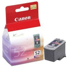Canon CL-52 Photo OEM High-Yield Ink Cartridge, 0619B002