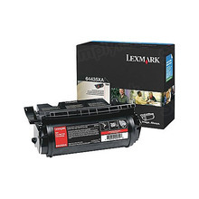 Lexmark OEM Extra High Yield Black Laser Toner Cartridge, 64435XA (T644) (32,000 Page Yield)u00a0