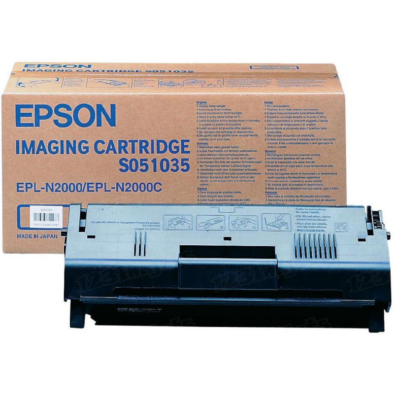 OEM S051035 Black Toner for Epson