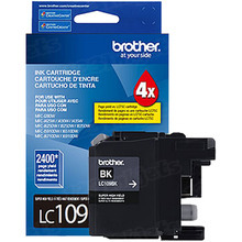 Brother LC109BK Black OEM Ink Cartridge, Extra High-Yield