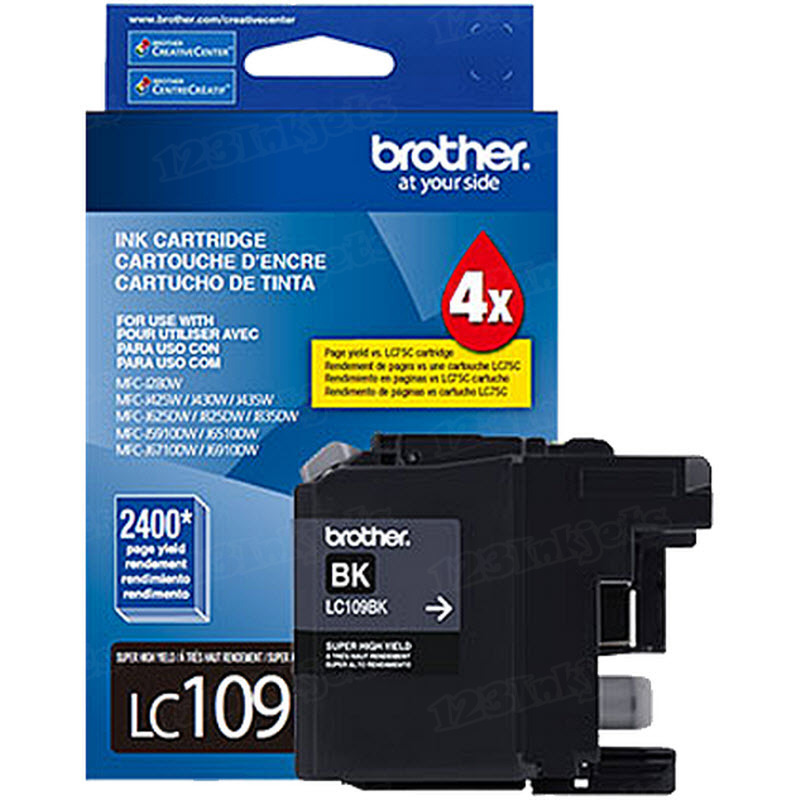 Brother LC109BK Black OEM High-Yield Ink Cartridge