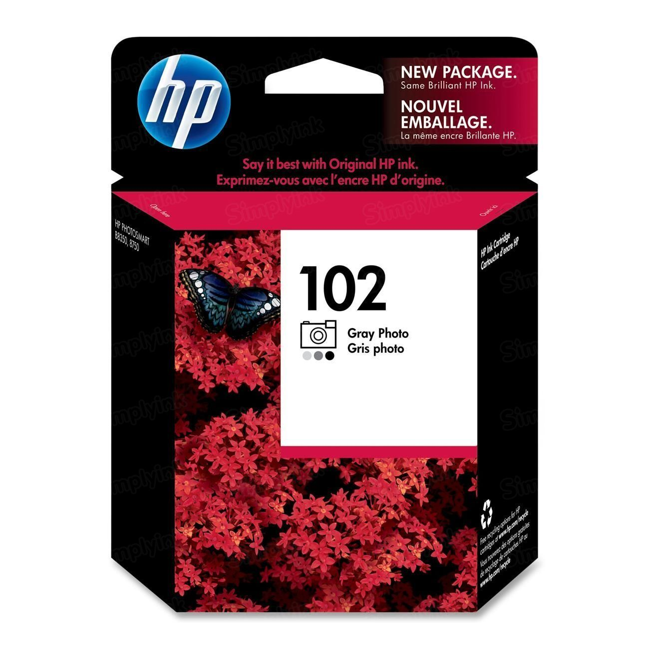 HP 102 Photo Gray Original Ink Cartridge C9360AM