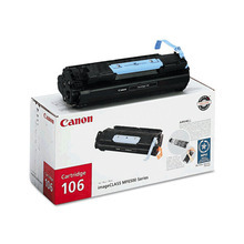 Canon 106 (5,000 Pages) High Yield Black Laser Toner Cartridge - OEM 0264B001AA