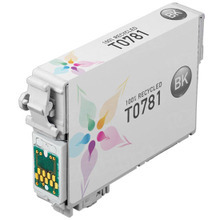 Remanufactured Epson T078120 (T0781) Black Ink Cartridges