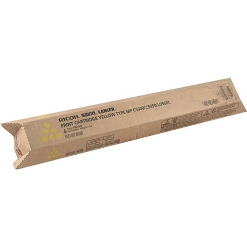 OEM Ricoh 841285 Yellow Toner Cartridge