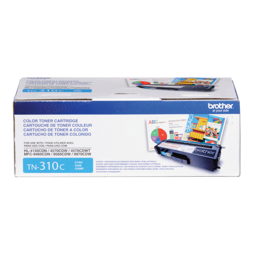 OEM Brother TN310C Cyan Toner Cartridge
