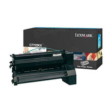 Lexmark OEM Extra High Yield Black Laser Toner Cartridge, C7722KX (C772 series) (15,000 Page Yield)u00a0