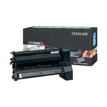 Lexmark OEM Extra High Yield Magenta Laser Toner Cartridge, C7722MX (C772 series) (15,000 Page Yield)u00a0