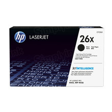 HP 26X (CF226X) Black High Yield Original Toner Cartridge in Retail Packaging
