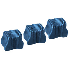 Compatible Xerox Set of 3 Cyan 108R00669 Solid Ink Blocks for the Phaser 8500