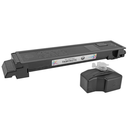 Kyocera-Mita Compatible 1T02K00US0 Black Toner Cartridge