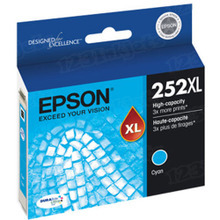 Epson OEM High Yield Cyan T252XL220 Ink Cartridge