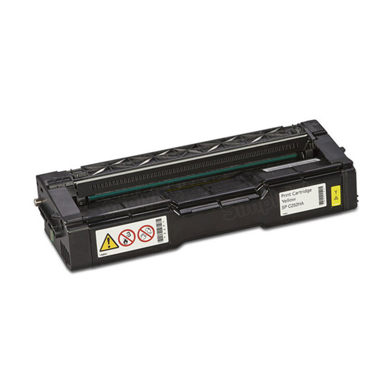 OEM Ricoh 407656 Yellow Toner Cartridge