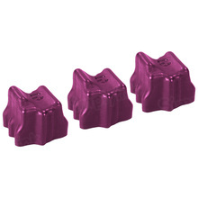 Compatible Xerox Set of 3 Magenta 108R00670 Solid Ink Blocks for the Phaser 8500
