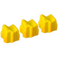 Compatible Xerox 108R00671 Yellow 3-Pack Solid Ink for the Phaser 8500