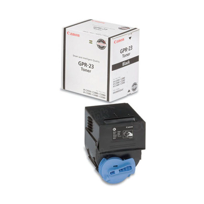 Canon GPR23BK Black Toner Cartridge, OEM