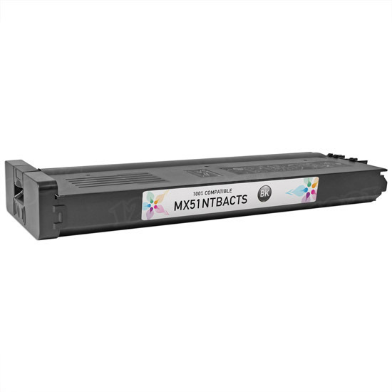 Sharp Compatible MX-51 Black Toner