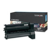 Lexmark OEM Extra High Yield Black Laser Toner Cartridge, C782U2KG (C782D/X782E) (16,500 Page Yield)u00a0