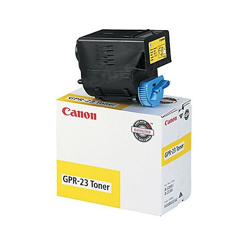 Canon GPR23Y Yellow Toner Cartridge, OEM