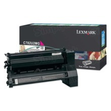 Lexmark OEM Extra High Yield Magenta Laser Toner Cartridge, C782U2MG (C782D/X782E) (16,500 Page Yield)u00a0