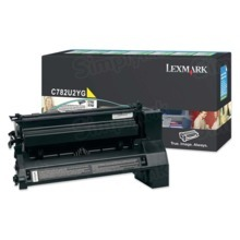 Lexmark OEM Extra High Yield Yellow Laser Toner Cartridge, C782U2YG (C782D/X782E) (16,500 Page Yield)u00a0