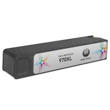 Remanufactured Replacement Ink Cartridge for Hewlett Packard CN625AM (HP 970XL) High-Yield Black