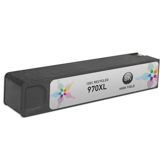 Remanufactured Replacement HY Black Ink for HP 970XL