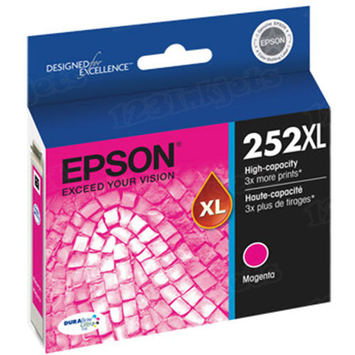 OEM Epson T252XL320 High Yield Magenta Ink Cartridge