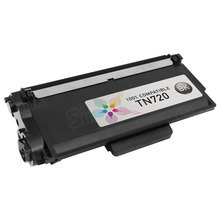 TN720 Black Compatible Brother Laser Toner Cartridge