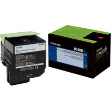 Lexmark OEM Extra High Yield Black Return Program Laser Toner Cartridge, 80C1XK0 (CX510 Series) (8K Page Yield)