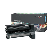 Lexmark OEM High Yield Black Return Program Laser Toner Cartridge, C7700KH (C770/C772/X772 Series) (10K Page Yield)