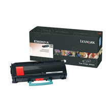 Lexmark OEM High Yield Black Laser Toner Cartridge, E360H21A (E360/E460) (9,000 Page Yield)