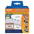 Genuine DK-1208 (1.4 in x 3.5 in) White Paper Address Labels for Brother