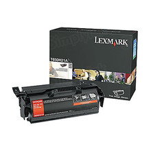 Lexmark OEM High Yield Black Laser Toner Cartridge, T650H21A (T650/T652/T654) (25,000 Page Yield)
