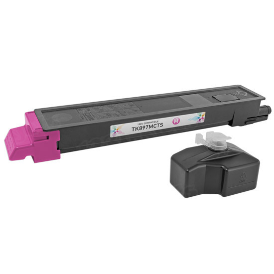 Kyocera-Mita Compatible 1T02K0BUS0 Magenta Toner Cartridge