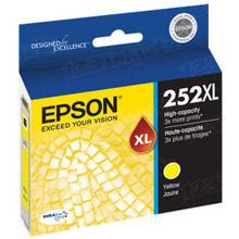 Epson OEM High Yield Yellow T252XL420 Ink Cartridge