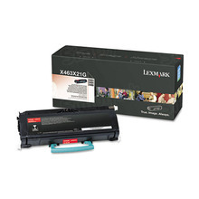 Lexmark OEM Extra High Yield Black Laser Toner Cartridge, X463X21G (X463/X464/X466) (15,000 Page Yield)u00a0
