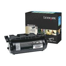 Lexmark OEM High Yield Black Laser Toner Cartridge, X644H01A (X642E/644E) (21,000 Page Yield)